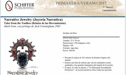 Narrative jewelry-Tales from the Toolbox, nuevo libro sobre joyería con Hebe Argentieri y Patricia Alvarez
