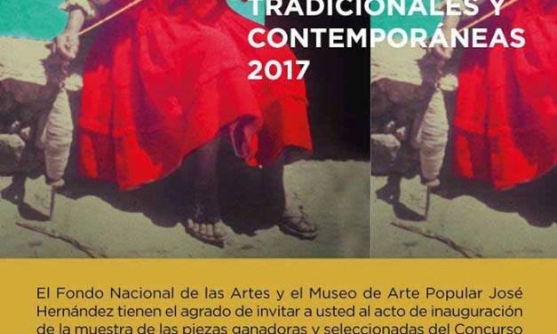Inauguración de la Exposición de Artesanías del FNA