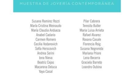 Miradas convergentes, exposición de joyería contemporánea en La Plata