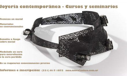 Clases de joyería contemporánea en La Plata