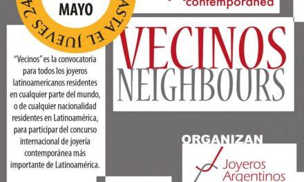 ¡¡Ultimo día!! Inscribite hoy en la II Bienal Latinoamericana de Joyería Contemporánea