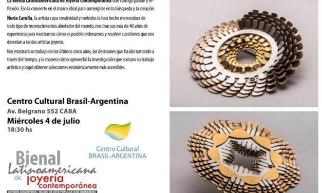 Conferencia: A lo lejos, de lo Artístico a lo Comercial, a cargo de Nuria Carulla