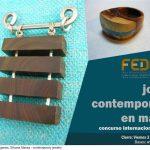 Nueva fecha límite: Concurso internacional de joyería en madera FEDEMA