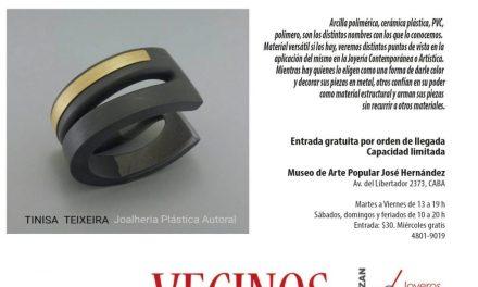 Bienal 2018: Este sábado, charla y demostración de joyería en arcilla polimérica