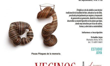 Bienal 2018: Taller de microcestería en crin, a cargo de Rita Soto