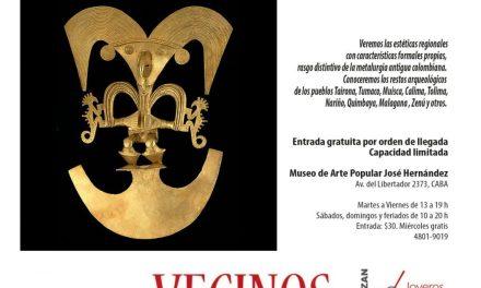 Bienal 2018: Charla «El oro prehispánico en Colombia», a cargo de Cecilia Meroño