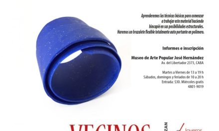 Bienal 2018: Taller de arcilla polimérica a cargo de Sandra Pulgar