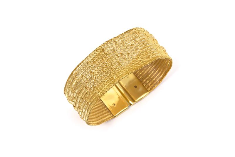 Lilia Breyter - Boutonnée Plata baño de oro