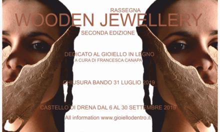 Convocatoria: Joyería en madera (Gioiellodentro, Italia)