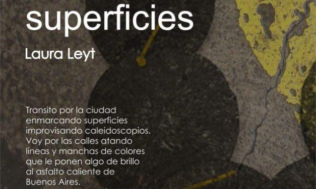 Pavimentos y otras superficies, exposición de Laura Leyt en Barcelona
