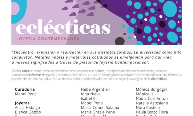 Eclécticas: exposición del taller de Mabel Pena