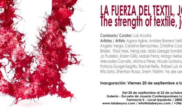 Obra de Mabel Pena y Rafael Alvarez en Madrid, La fuerza del Textil.