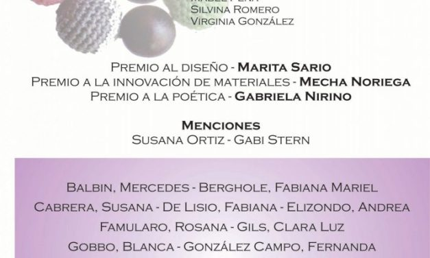 Anunciaron los premios en el IV Salón de Joyería Textil del CAAT
