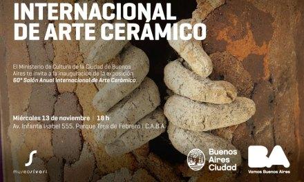 Inaugura el 60º Salon de Arte Cerámico, con participación de Paula Isola