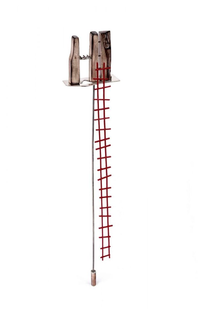 Andrea Serini - En caso de incendio, descender por la escalera