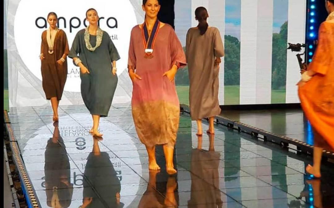 Ampara textil, de Lilia Breyter, se presentó en la Fashion Week