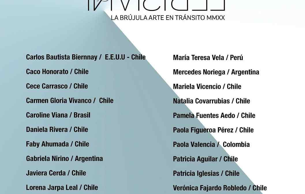Develando lo invisible, exposición en Chile con participación argentina