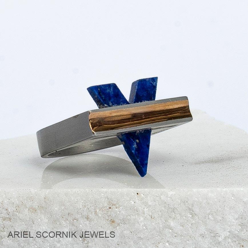 Ariel Scornik - Anillo Victoria Azul