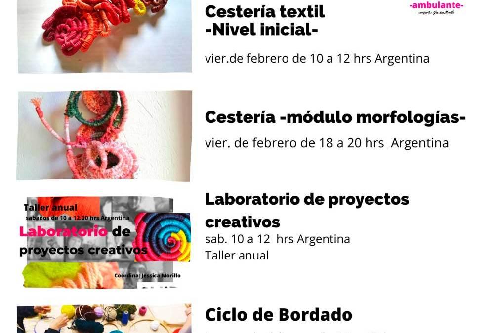 Talleres textiles de febrero