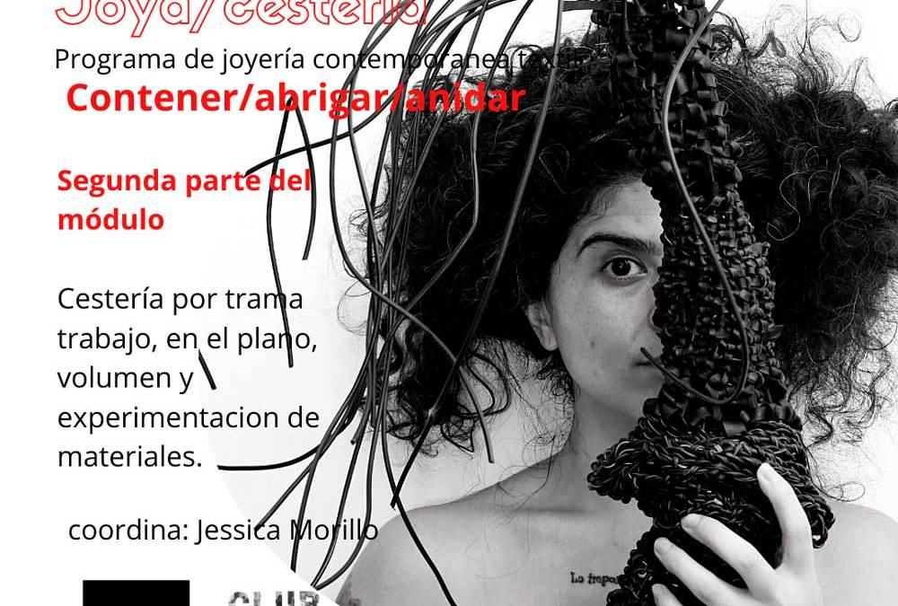 Joya/cestería (coordina J. Morillo), abierta la inscripción