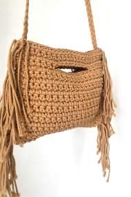 Striplac τσάντα καφέ