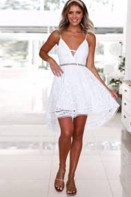 Go chic dress λευκό