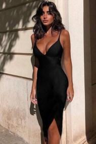 Caliente φόρεμα μαύρο