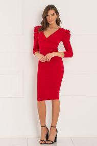 Francisco φόρεμα κόκκινο
