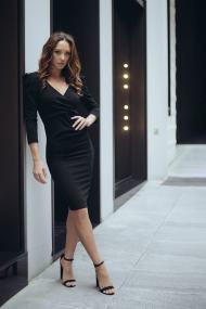 Francisco φόρεμα μαύρο