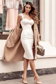 Kirk φόρεμα λευκό