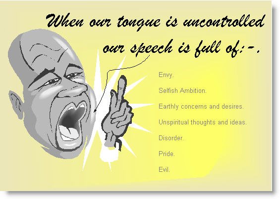 Uncontrolled Tongue
