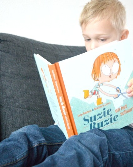 Boevig boekje: Suzie Ruzie