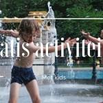 Leuke GRATIS activiteiten met kids