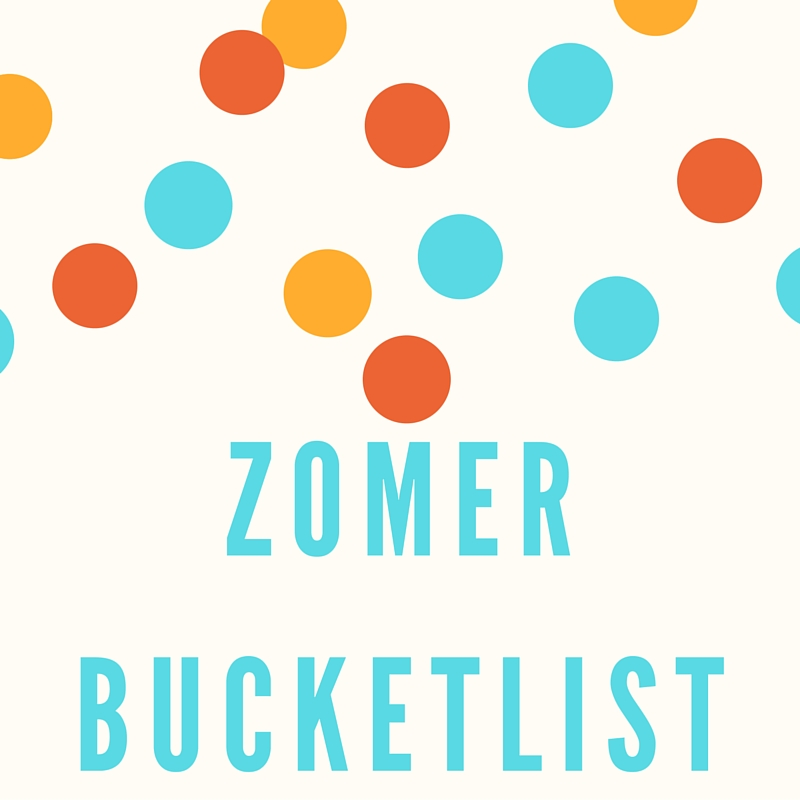 zomer bucketlist