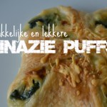 Recept ♥ Spinazie Puffs