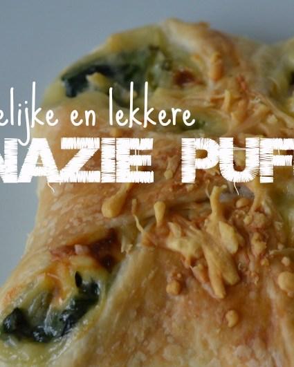 Recept ♥ Spinazie Puffs