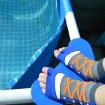 Review – Sweakers een musthave voor in het zwembad