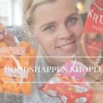 Boodschappen shoplog   Video