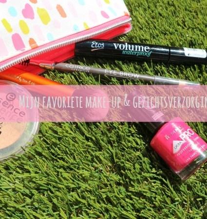 Mijn favoriete make-up & gezichtsverzorgings items