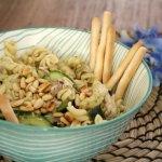 Recept | Pastasalade met makreel en komkommer