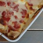 Recept | Lasagne Salami & Mozzarella