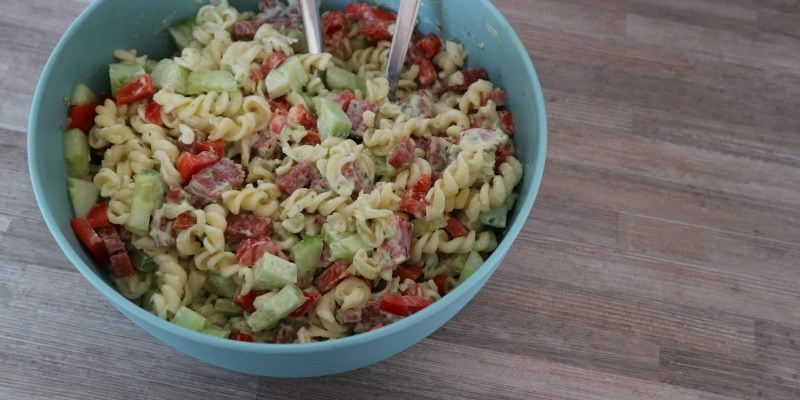 Recept | Pastasalade met Heks'nkaas