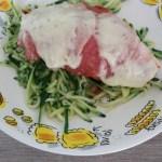 Recept | Pizzaiola met courgetti