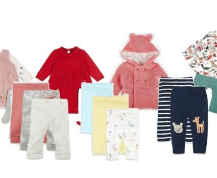 Baby kleding shoppen bij Marc & Spencer