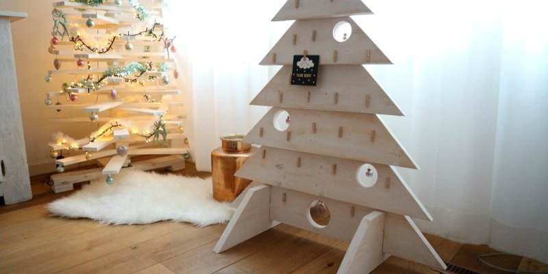 Een kerstboom voor je kerstkaarten   Advent of Joy