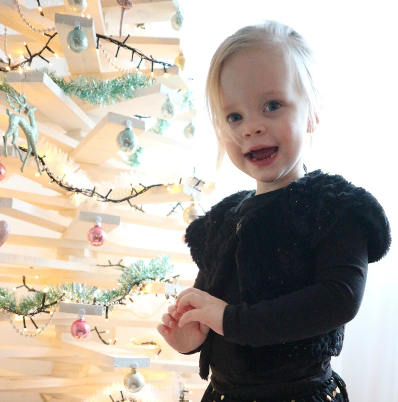 Sofie haar (budgetproof) kerstoutfit | Advent of Joy