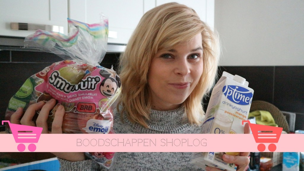 VIDEO | Boodschappen shoplog