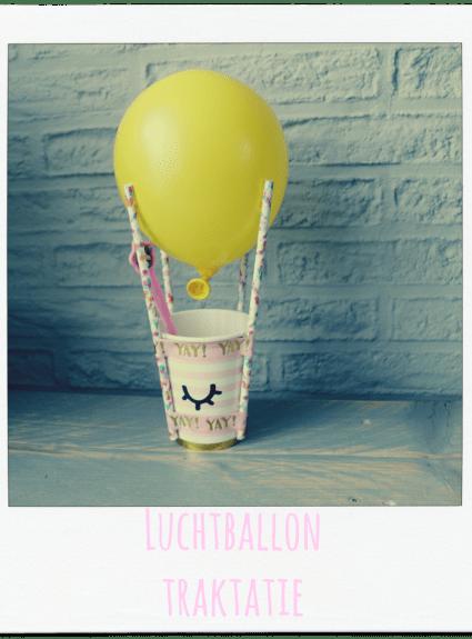 Luchtballon traktatie