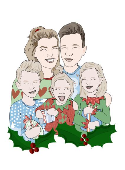 De ultieme Joyfromjoyce kerstgroet