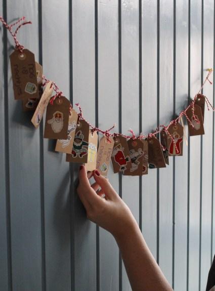 Aftelkalender voor Sinterklaas | Doe het zelf